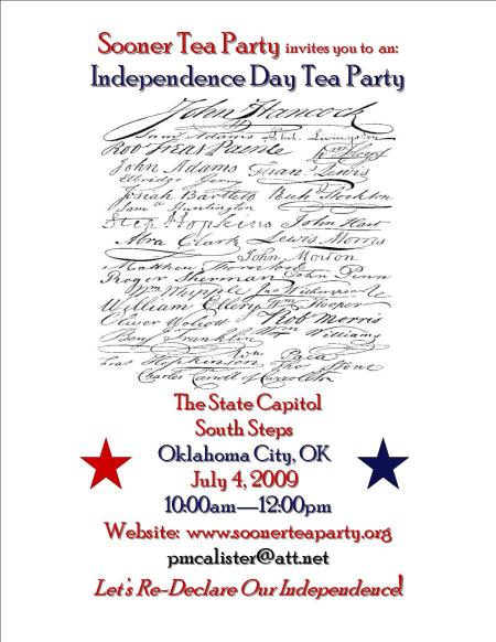 Sooner Independence Day Tea Party FLYER jpeg