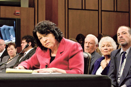 Sotomayor hearings