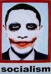 Joker socialism Obama poster