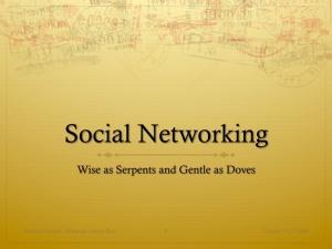 Slide01 - Social Networking
