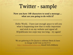 Slide11 - Twitter Sample
