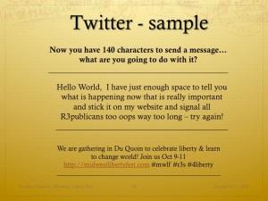 Slide11 - Twitter Sample