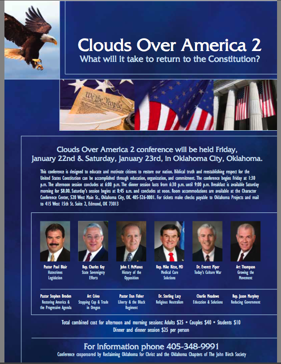 Clouds Over America 2