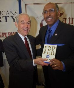 Priceless Pic from CPAC 2010: Michael Steele and Ron Paul