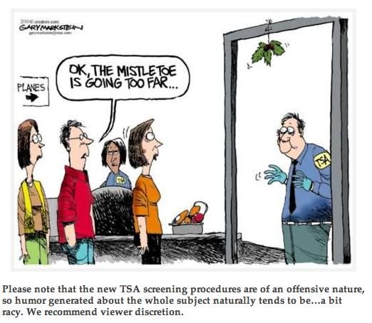 GiN on TSA Christmas humor