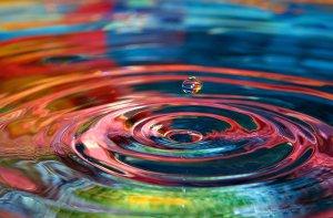 Drop of Water Colored Pool via KB