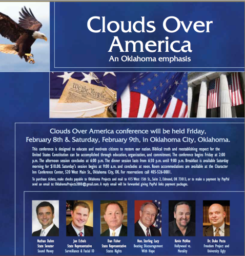 Clouds over America OK 2013
