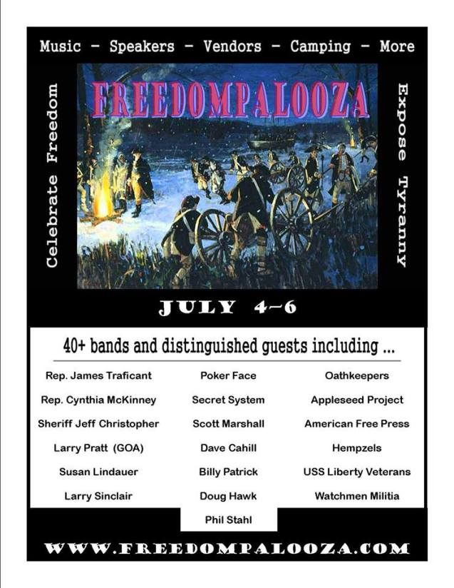 FreedomPalooza2013 Philadelphia Area