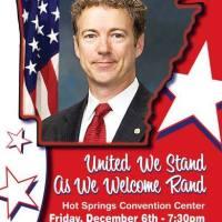Rand Paul keynote speaker for Republican Party of Arkansas in December 2013