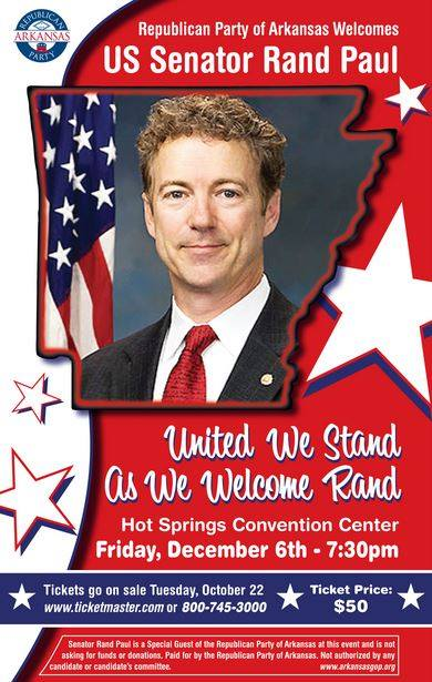 Rand Paul speaks to Republican Party of Arkansas Dec 2013
