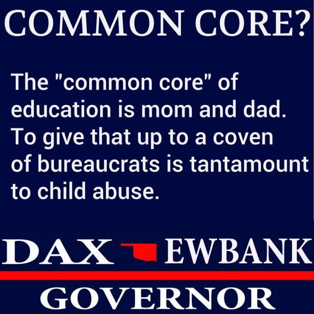 Dax Ewbank on Common Core