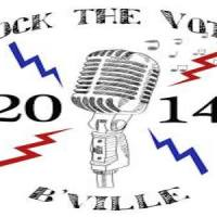Rock the Vote -- B'Ville -- Happening May 18th in Sooner Park
