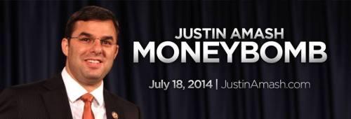 Justin Amash Money Bomb July 18 2014
