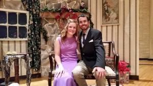 Kenny Bob Tapp with fiancee Rachel Watts
