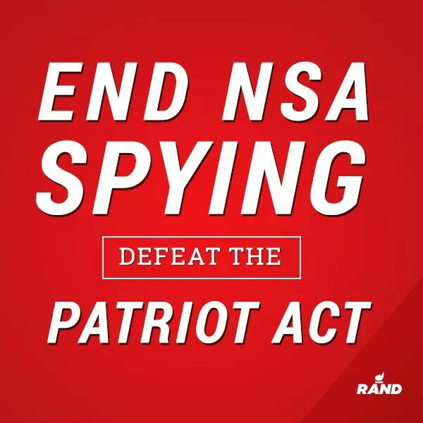 End NSA Spying Defeat the Patriot Act - Rand