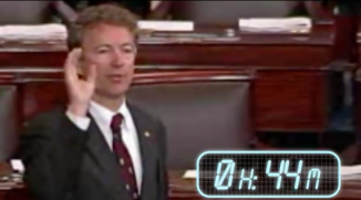 Rand Paul Filibuster Early