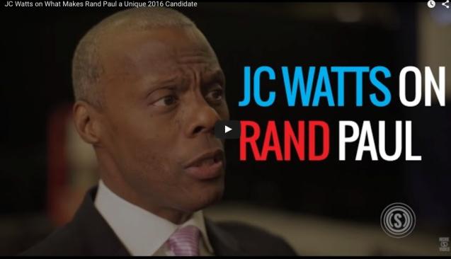 JC Watts on Rand Paul