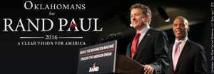 Rand Paul with JC Watts
