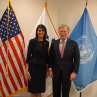 Nikki Haley Seeks Ancient Neocon Wisdom From John Bolton