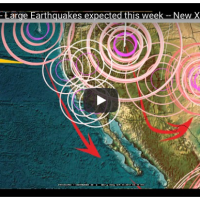 Earthquake Predictions via  Dutchsinse on Youtube for Week of 9/10/17