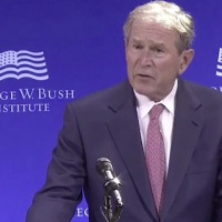 George Bush Attacks Trumpism, Defends Open Borders Globalism From 'Nativist White Supremacists'