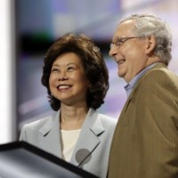 Secret Empires: How Mitch McConnell and Elaine Chao Used Political Power to Make Their Family Rich