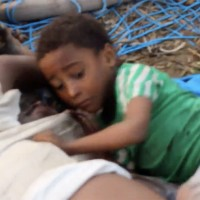 Boy clinging to his dead father won't become face of Yemen war for millions in the West (GRAPHIC)