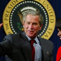 Indignation as George W. Bush Awarded Liberty Medal for Veteran Work