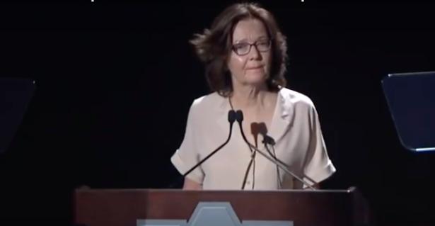 Gina Haspel screenshot from video